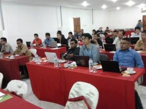 Suasana Pembukaan Training di Kupang