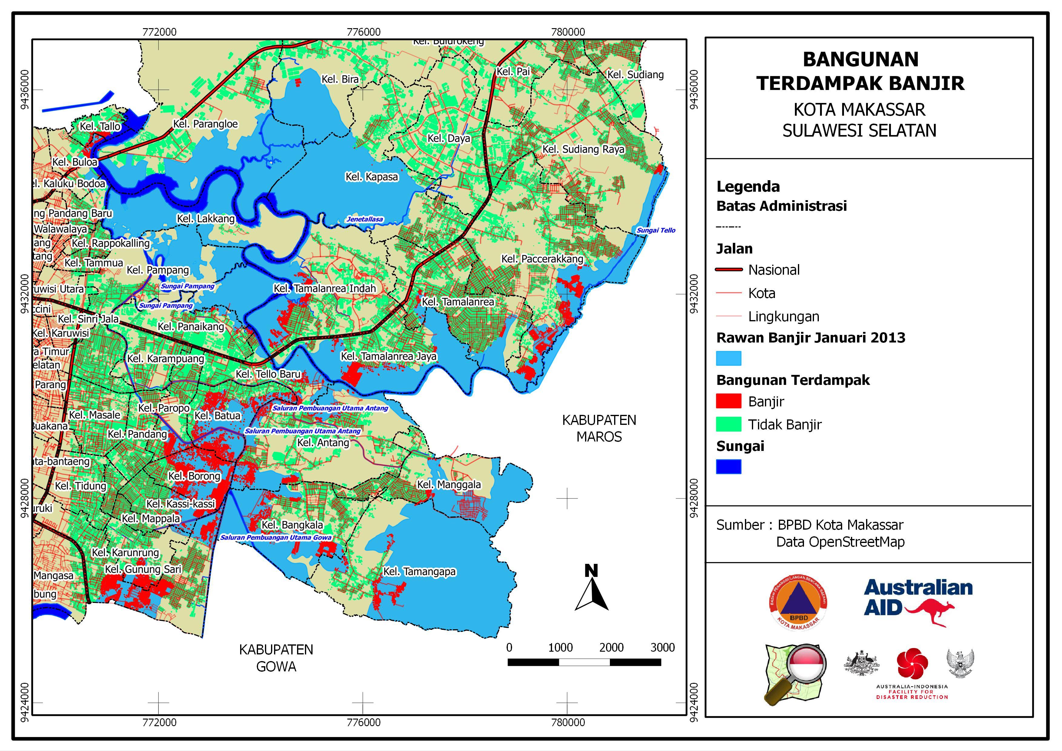 Contingency Plan Development in Makassar | OpenStreetMap Indonesia