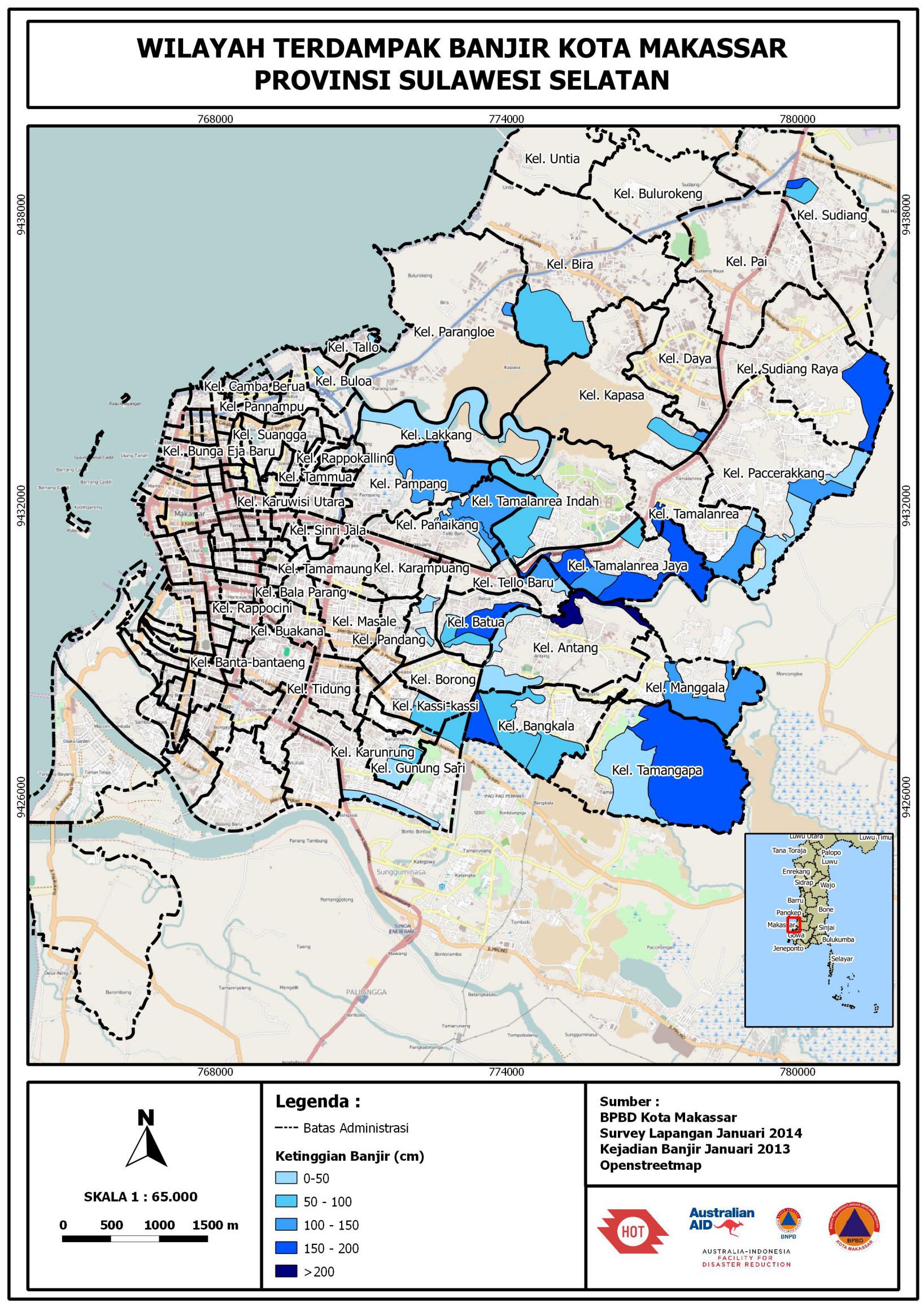 Kegiatan Update Data untuk Rencana Kontijensi Banjir Kota