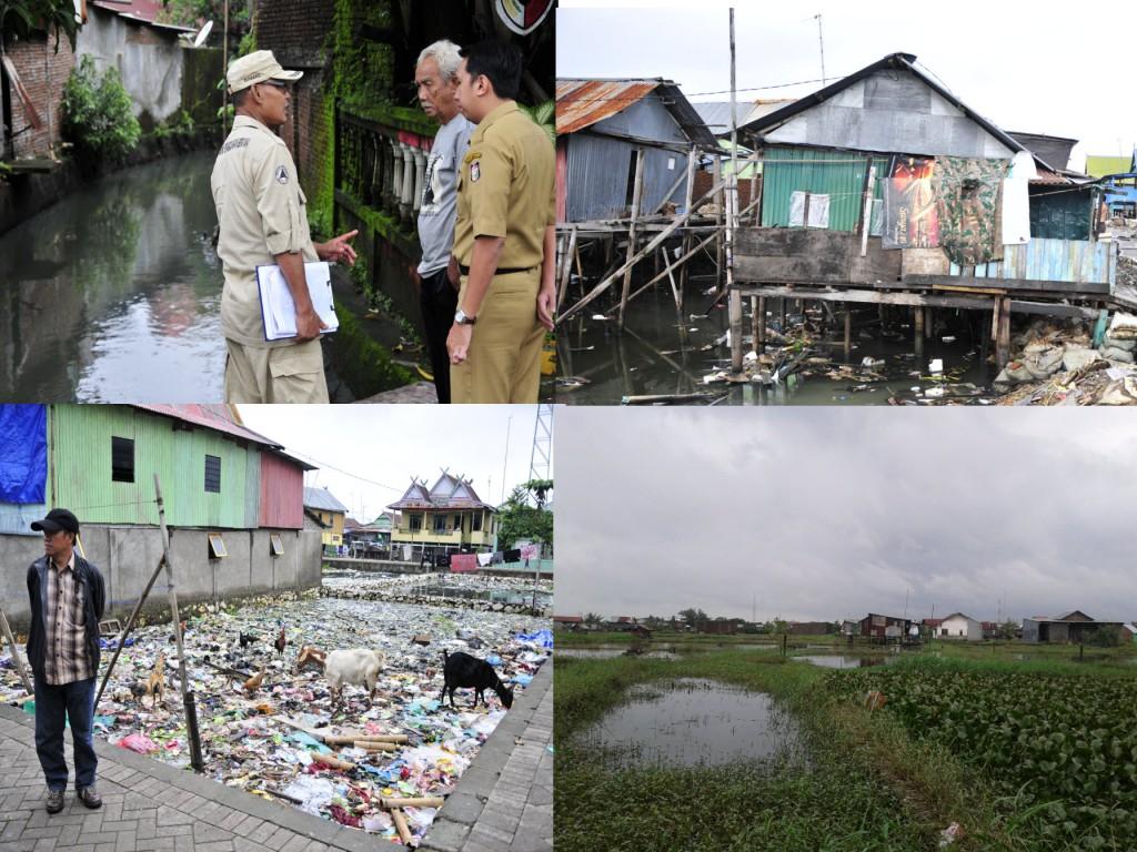 Field survey activities in Tallo and Batua