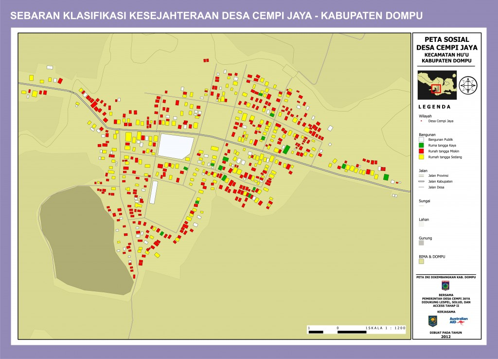 Peta Sosial Ekonomi Cempi Jaya Kab Dompu - NTB