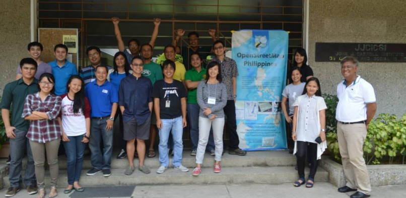 The 1st OSM Training of Trainers in the Philippines
