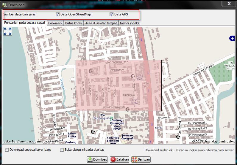 Download data GPS