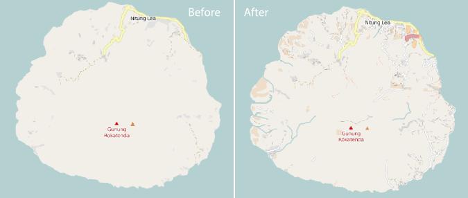 Before-after Rokatenda