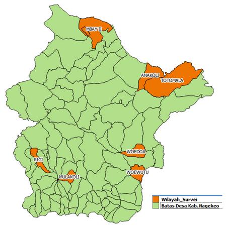 Lokasi Survei Lapangan