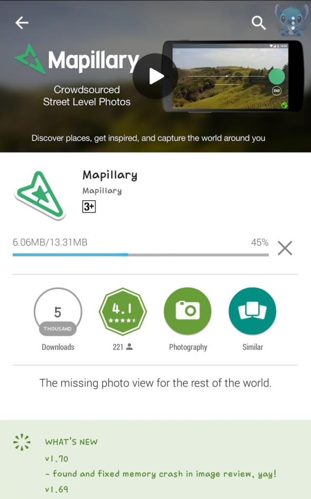 Instalasi Mapillary