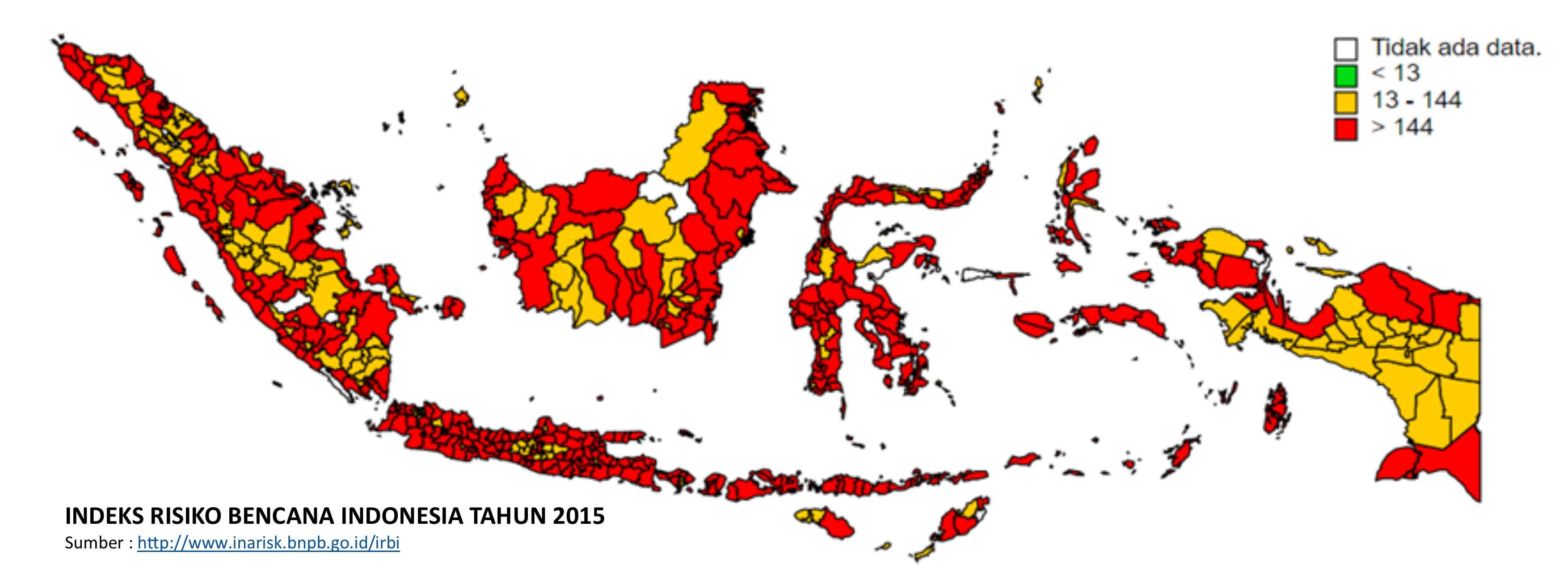 Indeks Risiko Bencana Indonesia 2015