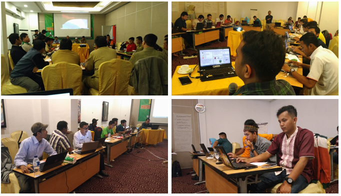 QGIS and InaSAFE training documentation in Kudus, Central Java