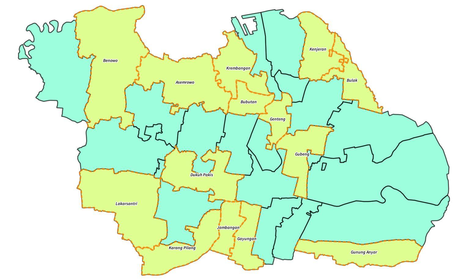 Data Surabaya   OpenStreetMap Indonesia