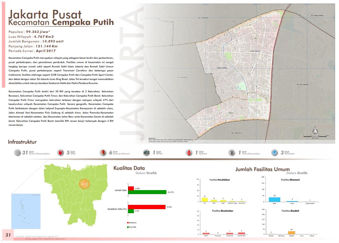 Peta Kelurahan-Kelurahan di Jakarta Pusat | OpenStreetMap ...