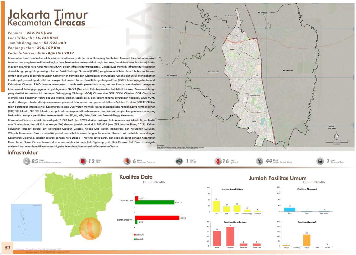 Peta Kelurahan-Kelurahan di Jakarta Timur | OpenStreetMap ...