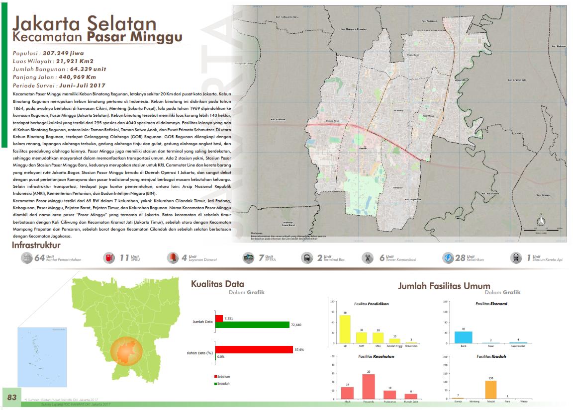 Peta Kelurahan-Kelurahan di Jakarta Selatan ...